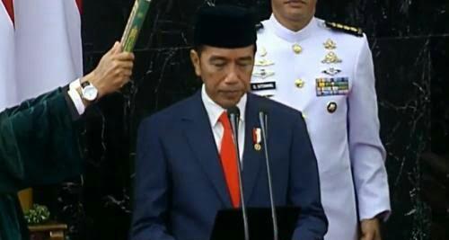 Jokowi-Ma'ruf Resmi Jadi Presiden-Wakil Presiden 2019-2024