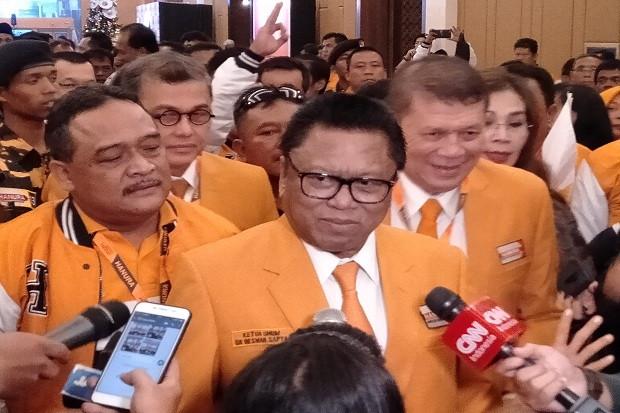 Dipilih Secara Aklamasi, OSO Kembali Pimpin Hanura