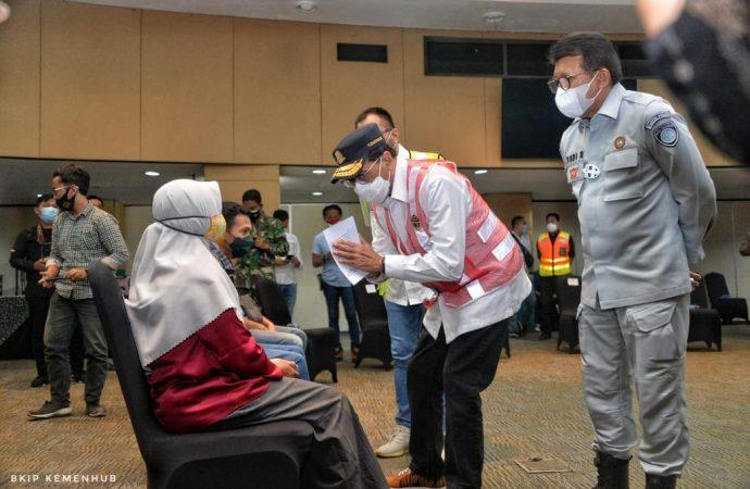 Menhub Pastikan Pencarian Korban Sriwijaya SJ-182 Dilakukan Maksimal