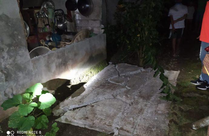 Gempa Sebabkan Lima Rumah Warga Kepulauan Talaud dan Satu Gereja Rusak