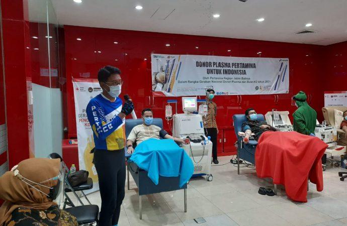 Perwira PertaminaBerbagi Donor Plasma