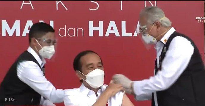 Penyuntikan Vaksin Pertama, Dokter Kepresidenan Akui Grogi