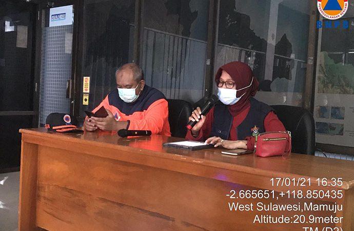 BNPB Inisiasi Pengaktifan Desk Relawan Penanganan Gempa Sulbar