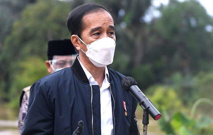 Jokowi Minta Sarana Penghubung yang Rusak Akibat Banjir di Kalsel Segera Diperbaiki