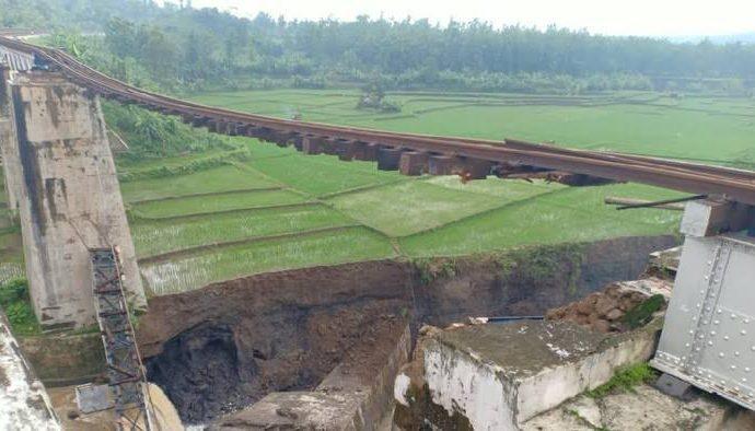 Jembatan Selesai Diperbaiki, Operasional Kereta Api Normal Kembali