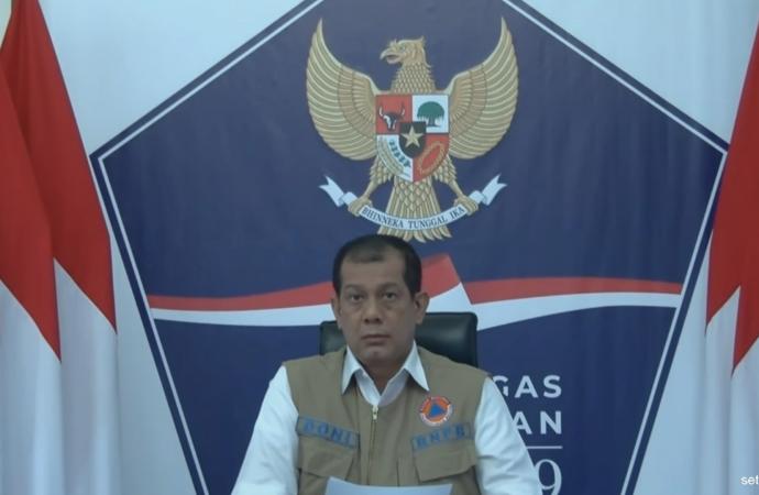 Kepala BNPB Doni Monardo Umumkan Dirinya Terpapar Covid-19