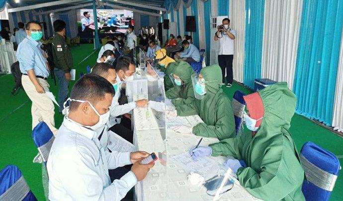 PLN – PMI Gelar Donor Darah dan Plasma Konvalesen di Surabaya