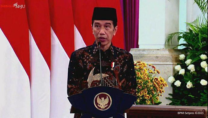 PT Bank Syariah Indonesia Resmi Diluncurkan, Jokowi Titip 5 Pesan Ini