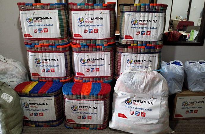 Nusantara Regas Salurkan Bantuan Kemanusiaan Bencana Gempa Sulbar