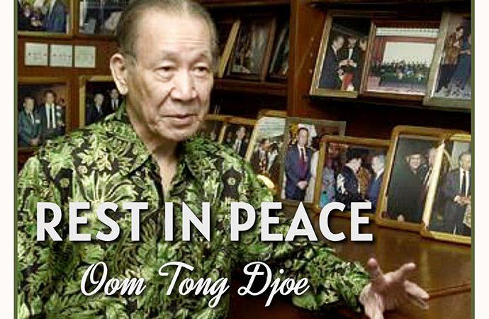 Tong Djoe, Salah Satu Pendiri Pertamina Wafat