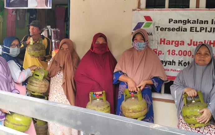 Antisipasi Peningkatan Kebutuhan Jelang Imlek, Pertamina Tambah Pasokan LPG di Riau
