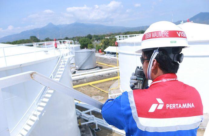 Pembangunan Tanki di 12 Lokasi Terminal BBM Rampung