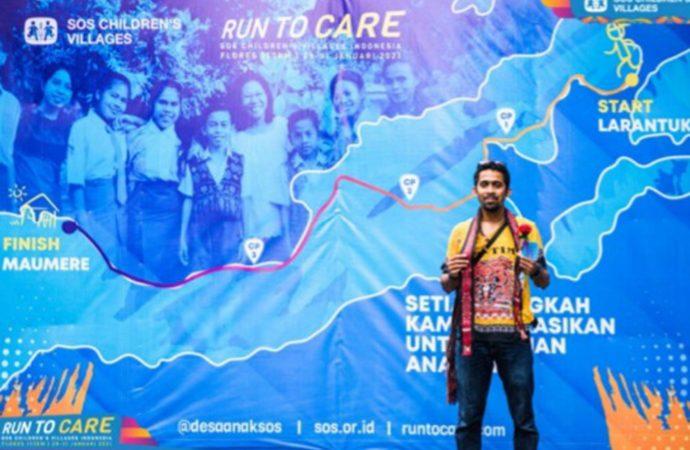 Pertamina Dukung Gerakan Sosial Melalui Seorang Pelari