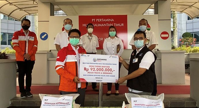 PHKT Salurkan Donasi Untuk Korban Bencana Kalsel dan Sulbar