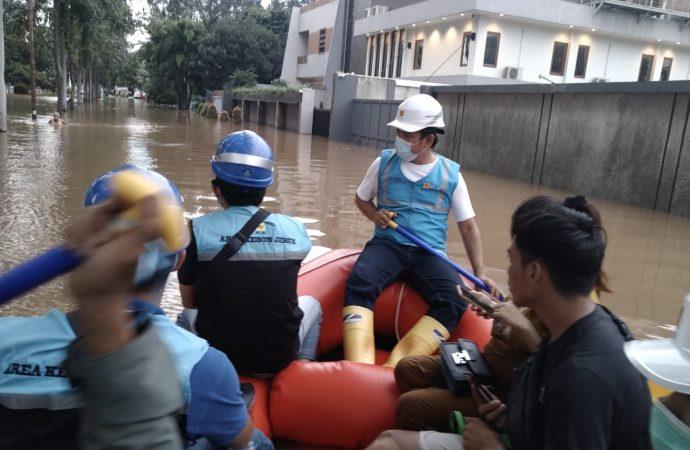 387 Gardu Terdampak Banjir di Jakarta dan Sekitarnya Menyala Lagi
