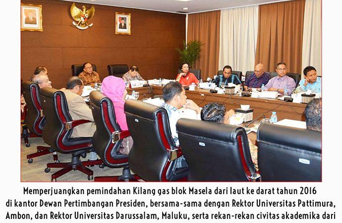 Blok Masela Harus Berdampak Positif Untuk Warga Maluku