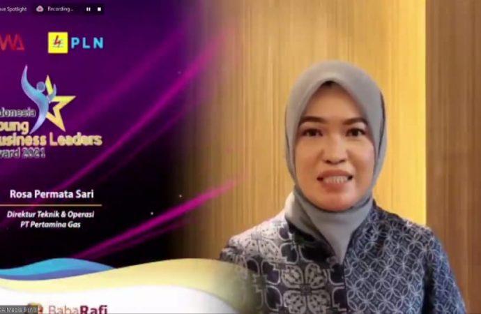 Direktur Teknik dan Operasi Pertagas Raih Business Leader Dalam IYBLA 2021