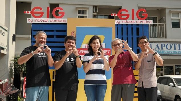 Berikan Layanan Internet Cepat, IM2 Launching GIG Home Di Apartemen PGV
