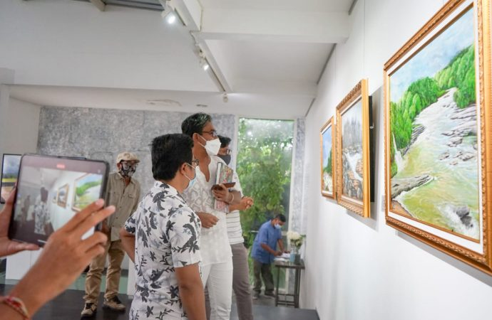 Pertamina Foundation dan Dewa Mustika Art Lab Gelar Pameran Lukisan Untuk Amal