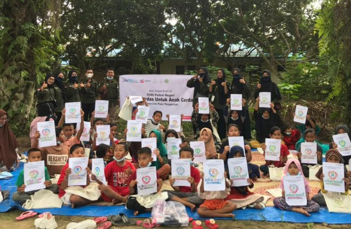 Pertamina Foundation dan Sobat Bumi Indonesia Gelar Aksi Sobat Bumi Jilid Tiga