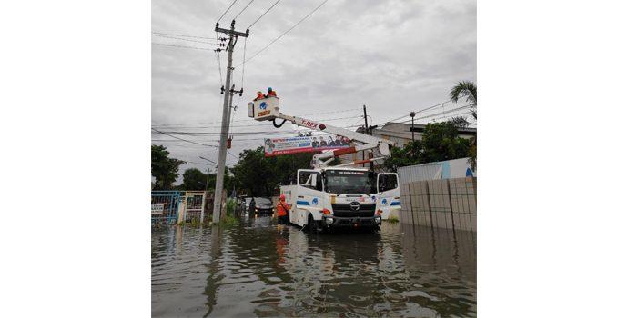 PLN Sigap Jaga Pasokan Listrik Paska Banjir Besar Di Semarang