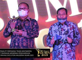 PTK Raih Dua Penghargaan di Anugerah BUMN 2021