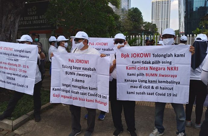 Kementerian BUMN dan DPR Dinilai Cuci Tangan Soal Kasus Jiwasraya