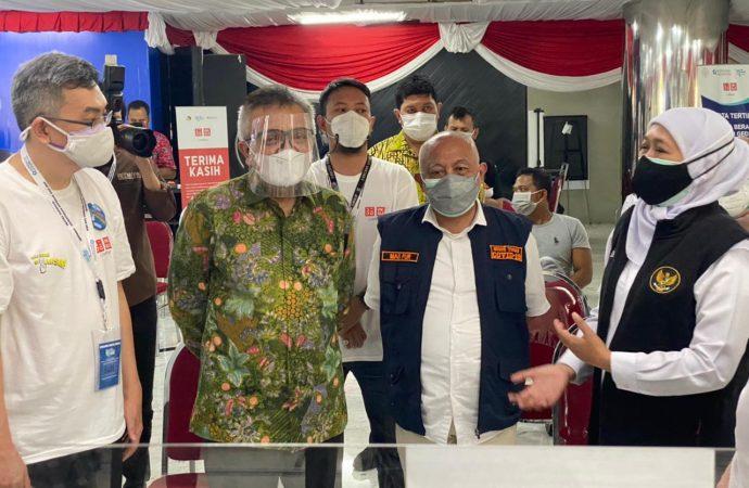 Vaksinasi di Jawa Timur Sasar 300.000 Pelaku UMKM