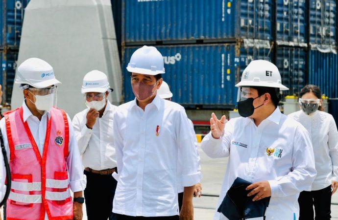 Presiden Resmikan Merger Pelindo-Merger Tingkatkan Daya Saing Pelabuhan Indonesia